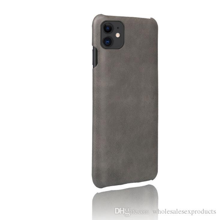 Nouveau iPhone 11 pro max de cas de téléphone mobile 6,5 pouces pour l'iPhone d'Apple 11 motif crocodile PU sans fil écouteurs