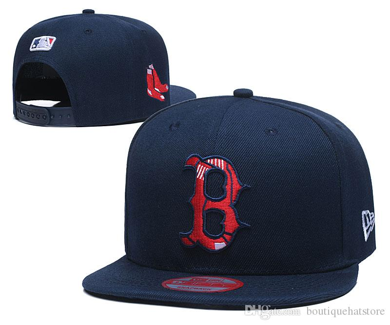 2020 High Quality Men's Red Sox Navy Blue Color LA Snapback Hats Brand Pupular Sport Baseball All Team NY Fan's One Size Adjustable Caps