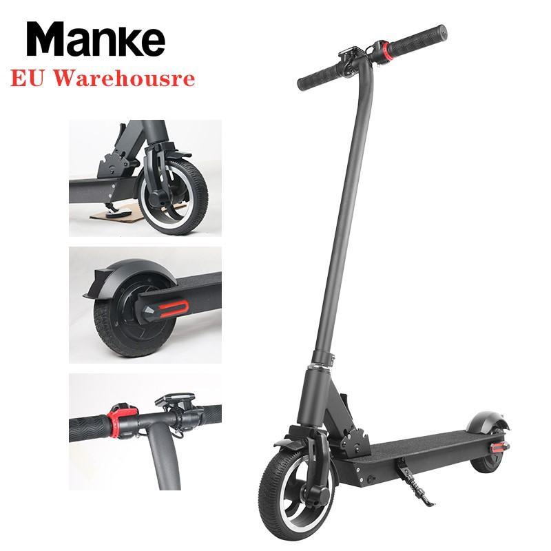 AB Antrepo 7gün Teslim Mini Elektrikli Scooter Uzun Menzilli Commute Yeni Tasarım 8.5inch Katlanır Elektrik Bisiklet Ev Bahçe Hafif