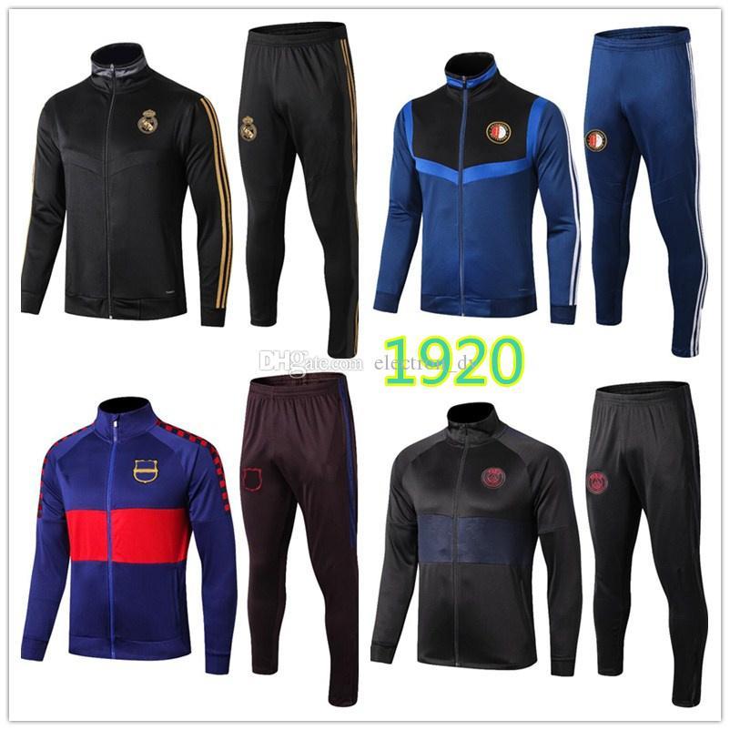 Giacca Ajax del Real Madrid 1920 nuova giacca da calcio di alta qualità da grande club per abbigliamento sportivo autunnale e invernale