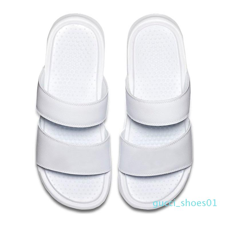 2020 Hausschuhe Designer-Mode der Frauen der Männer Flip-Flop-Sommer-Strand-Sandalen Classics schwarz weiß gelb Rose rosa Sport Größe 36-45 g01