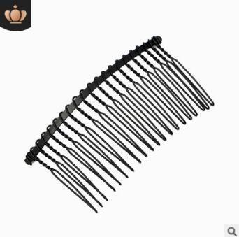 300pcs / lot DIY semplice nastro dell'oro nero filo di ferro forcelle Capelli Inserire Combs Hair Care Styling Tools Accessori per capelli HA1440