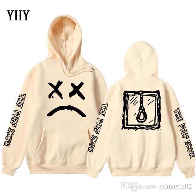 Lil Peep Amour Sweat Hommes Femmes Pull Casual Hip Hop Lil Peep Rapper Hoodies Sad garçons visage Hoody EL-13