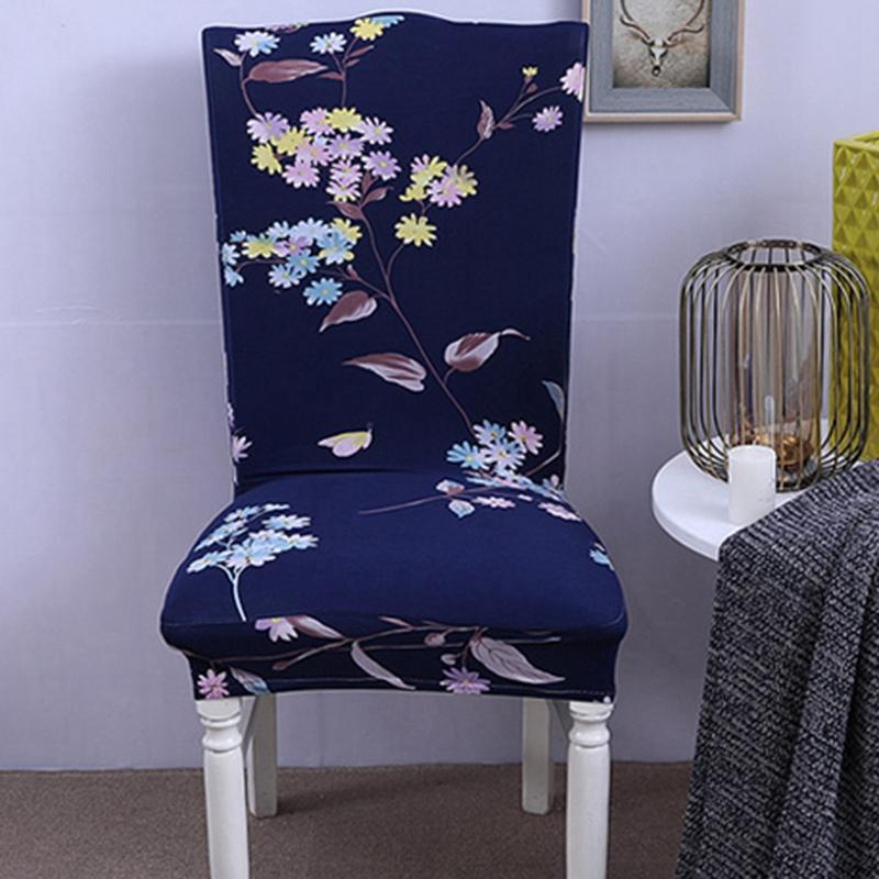 Printed Stuhl-Abdeckung Elastic Sitz Hussen abnehmbar und waschbar Stretch Bankett Hotel Dining Room Arm Bürostuhl-Abdeckung
