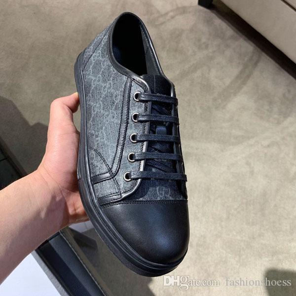 moda de luxo sapatos senhoras de luxo para homem preto de couro branco vermelho sapatos casuais retro couro estampado sneakers serpentes listradas