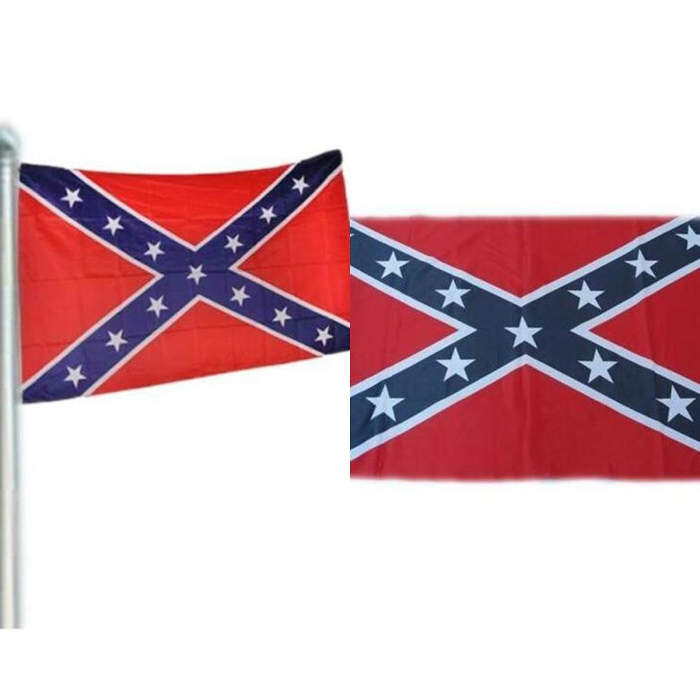 2020 Bandeira da guerra Confederate Rebel Civil da bandeira confederada de batalha confederadas Bandeiras Dois Lados Printed Bandeira Nacional poliéster Bandeiras 90x150cm