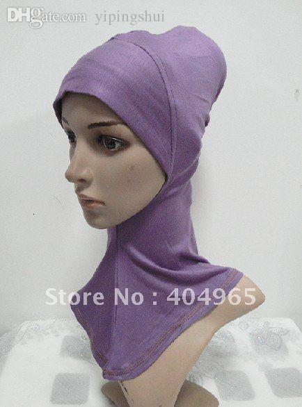 Wholesale-H405 fashion ninja underscarf and hats,mini hijab,fast delivery,assorted colors ninja