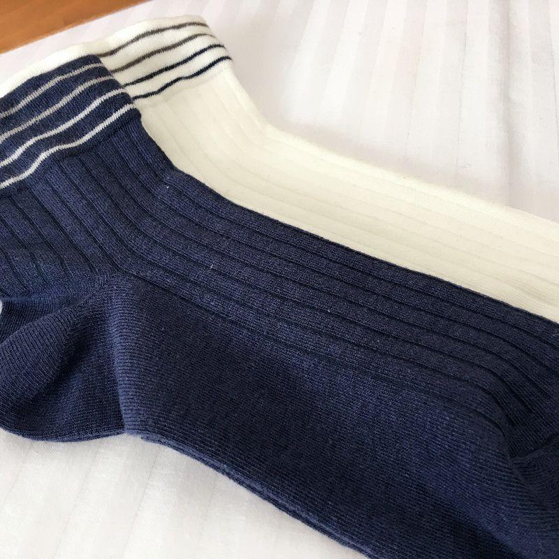 20ss Moda Erkek Çorap Erkek Yüksek Kalite Kısa Çorap Pamuk Blend Rahat Gençler Çorap Öğrenci İç Bir Boyut