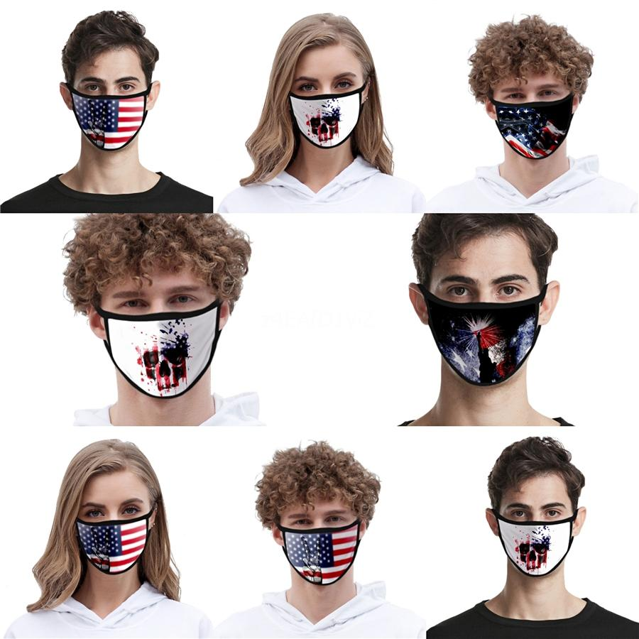 Face Mask Mascherine Maschera Maske Dust 3 Layers Mouth Masks er Non Woven Soft Breathable Designer Adults Kids Facemask#QA879