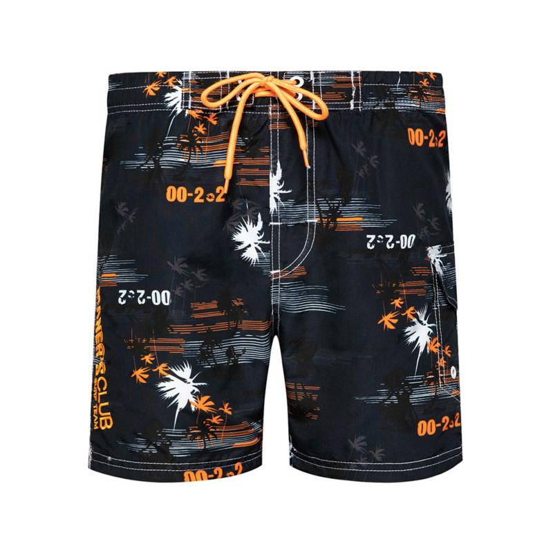 2020 summer Hawaiian style pocket beach shorts men's clothing polyester elastic waist casual Sporting Jogger Straight Sweatpants