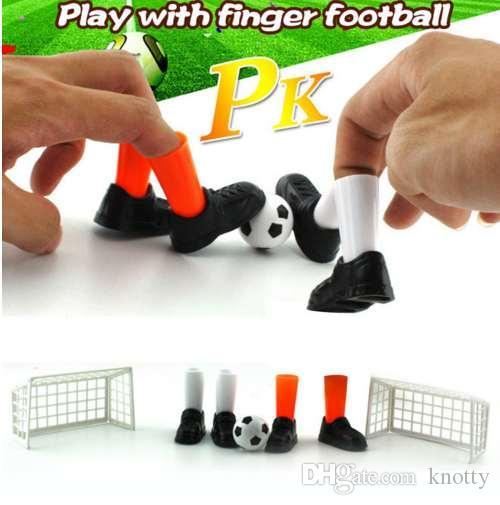 الأدوات مضحك حزب المباراة الاصبع لكرة القدم لعبة مضحكة الاصبع لعبة لعبة مجموعات مع هدفين للاهتمام لعب للأطفال هدية
