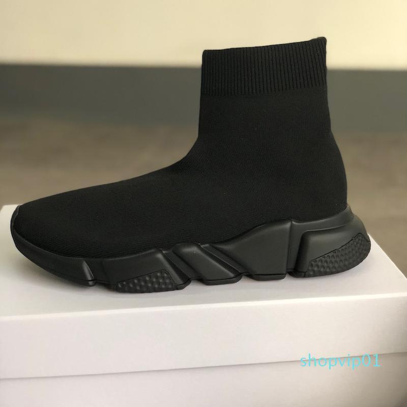 Новый дизайнер носок обувь высокое качество скорость тренер кроссовки Мужчины Женщины тренеры стрейч-вязать средние кроссовки тренер размер 13 c20