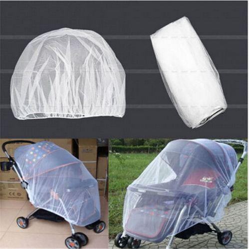 Infants Baby Stroller Pushchair Mosquito Insect Net Safe Mesh Buggy Crib Netting Cart Mosquito Net Pushchair Full Cover Netting