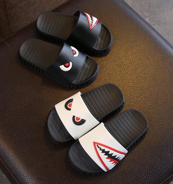 Kid Designer chaussons de luxe Slipper neuf chaussons enfant été garçon Chaussures fille Chaussures Indoor Accueil Slip Cute + Big bébé Chaussons +