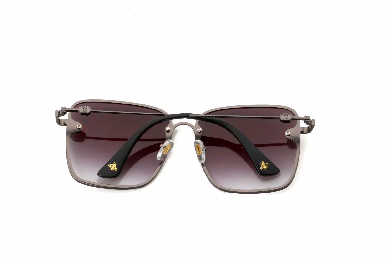 Оптово цвет Солнцезащитные очки с коробкой Солнцезащитные очки бренды Женщины площади Солнцезащитные очки New 2019 Дизайнерские аксессуары оптом