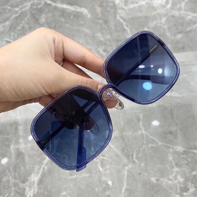 Fashion Square Sunglasses Blue Blue Shades PJP08 Sonnenbrille Occhiali Da Sole Women Sunglasses New With Box Ukgvr