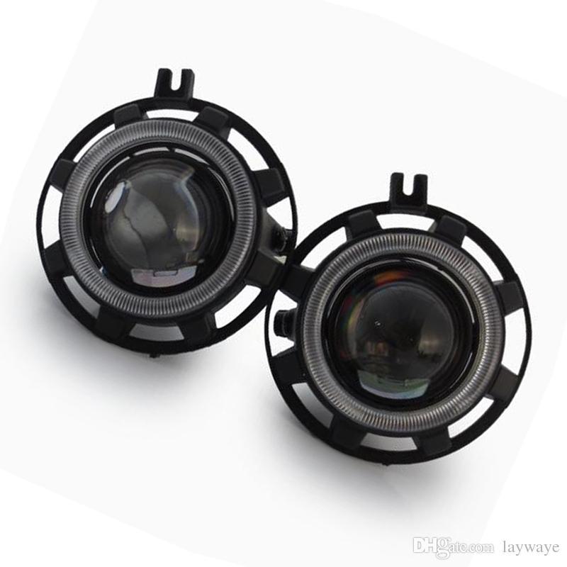 LED 할로겐 HID H11 H9 전구 스포트 라이트 높은 저 빔 프론트 범퍼 안개등 렌즈 홀더 어셈블리 크라이슬러 300 SRT8 모델 2009