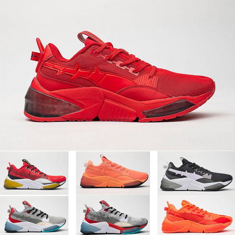 Toptan Nefes LQD Hücre Optik Sheer Spor Ayakkabı erkek Kadın Koşu Sneaker