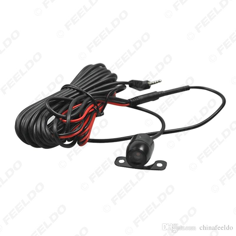 wholesale Waterproof 2.5mm (4Pin) Jack Port Universal Night Vision Car Rear View Camera For DVR Video Recorder #1304