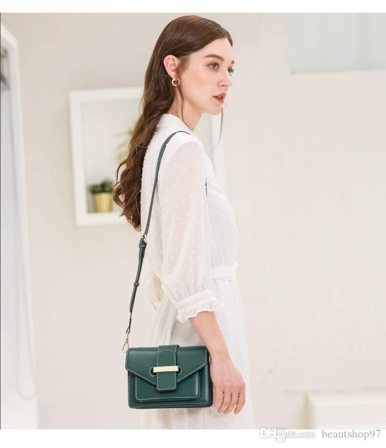 Mode-Kette Taschen Heiße verkauf Reise im Freien Umschlag-Beutel-Qualitäts Umhängetaschen Fashion Leder Mappen der Frauen 1BA153 30-23-16cm