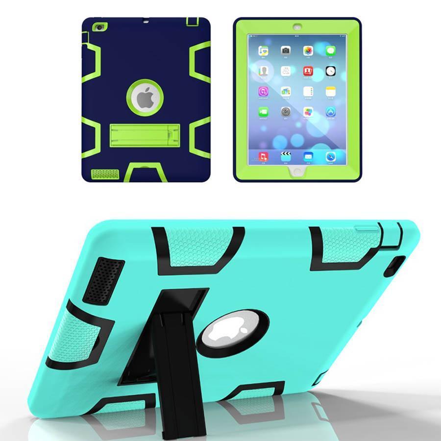 Per il nuovo iPad Pro 2017 Caso Tablet ibrida antiurto Proteggere armatura di caso per per l'aria iPad 2 3 4 mini iPad 4
