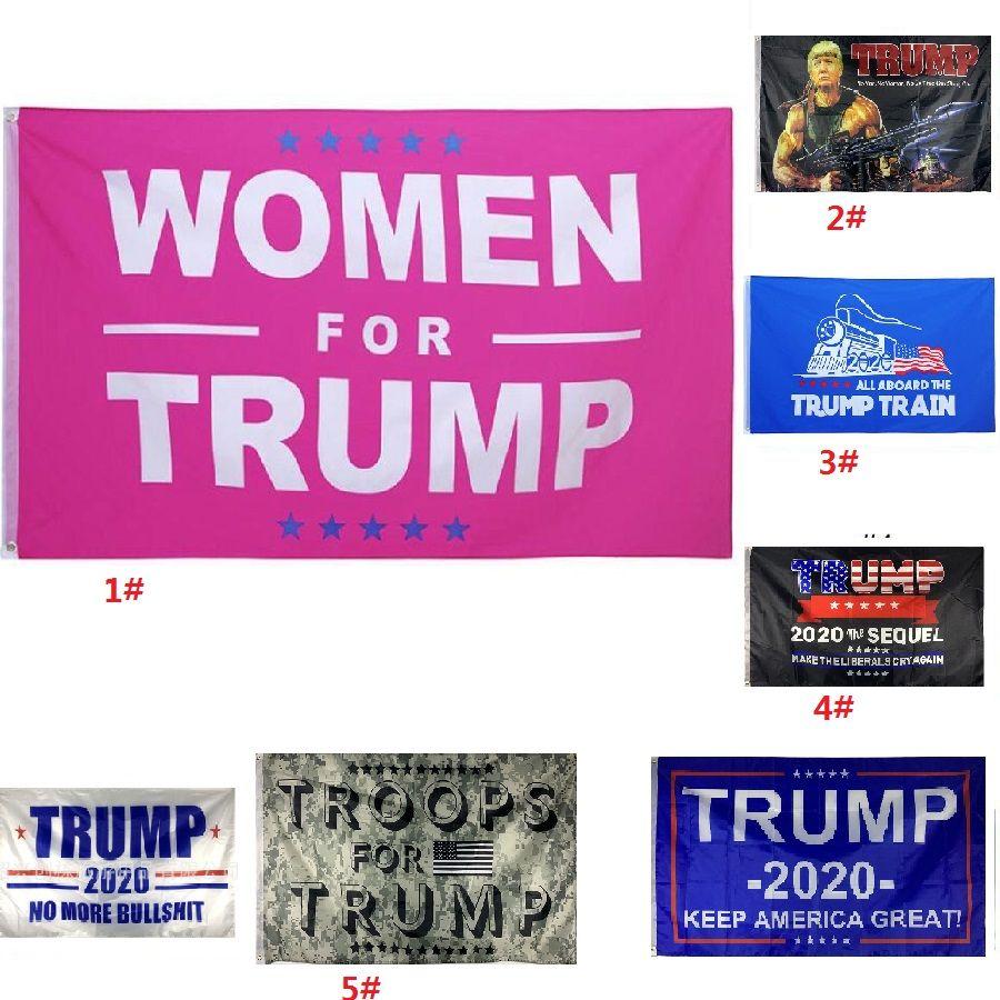 90 * 150cm Trump Fashion 2020 Drapeau classique Donald Keep America grand président numérique Imprimer Etats-Unis Bannière Party Decor HH9-3060