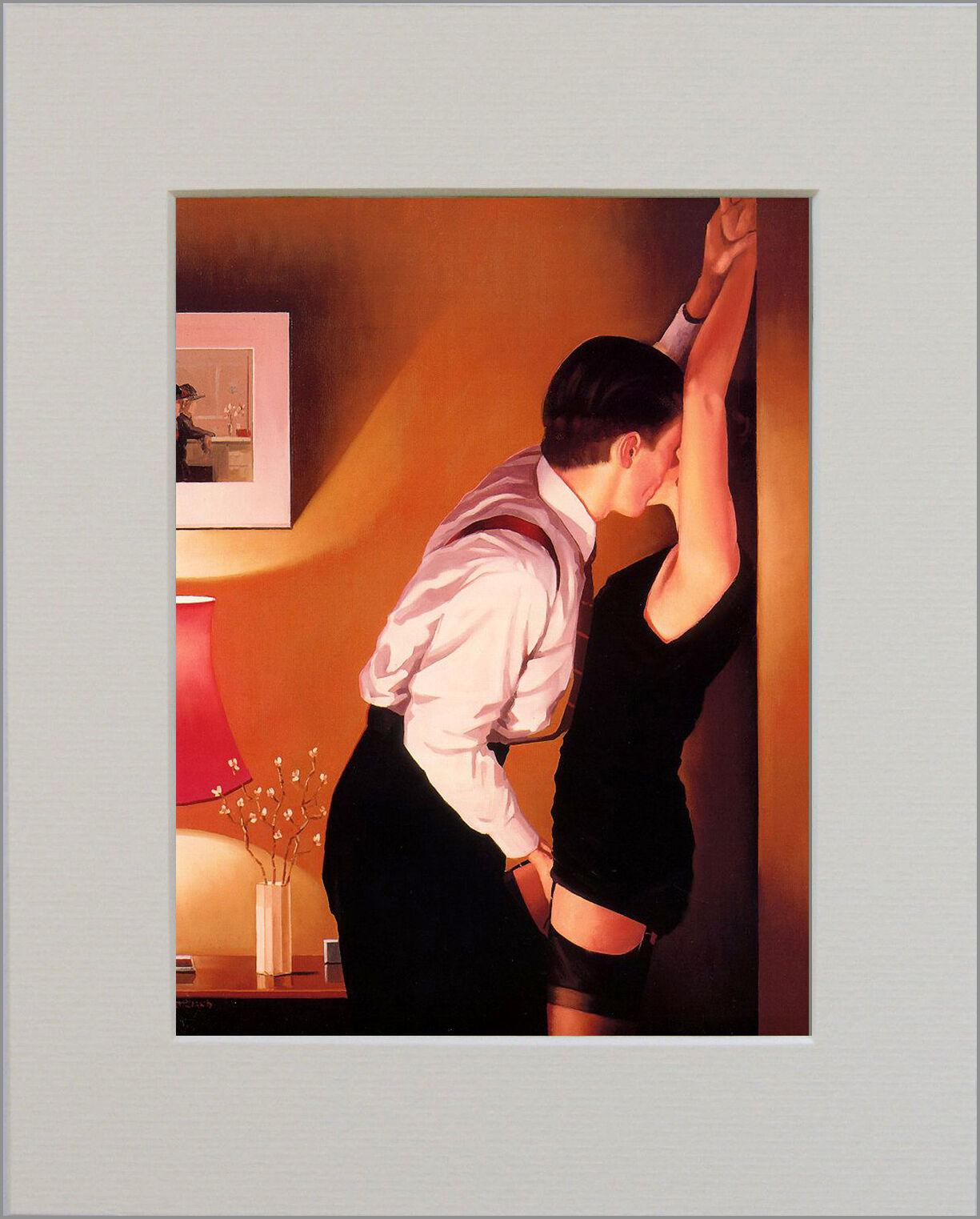 The Erotic Coleção Pictures 10 * 8 polegadas Framed Jack Vettriano Home Decor HD Imprimir pintura a óleo sobre tela Wall Art Canvas Pictures 191216