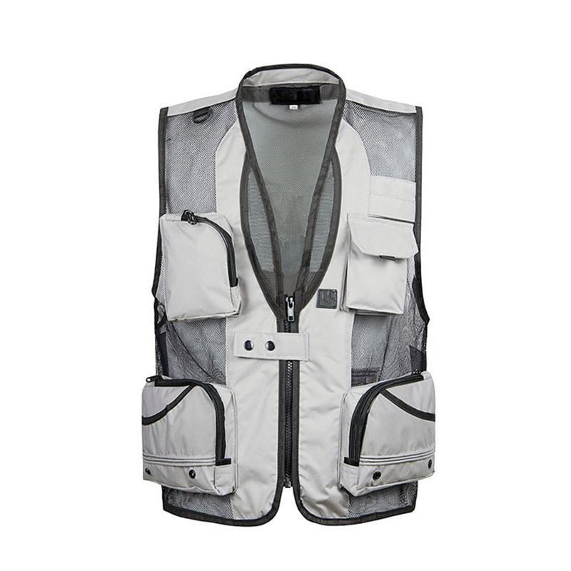 Tops de tanques para hombres 2021 Vestido de viaje de verano Malla XL-5XL POGRAFÍA MULTI MANTALIENTE WORDOR NEGO / KHAKI EJÉRCITO VERDE GRIS
