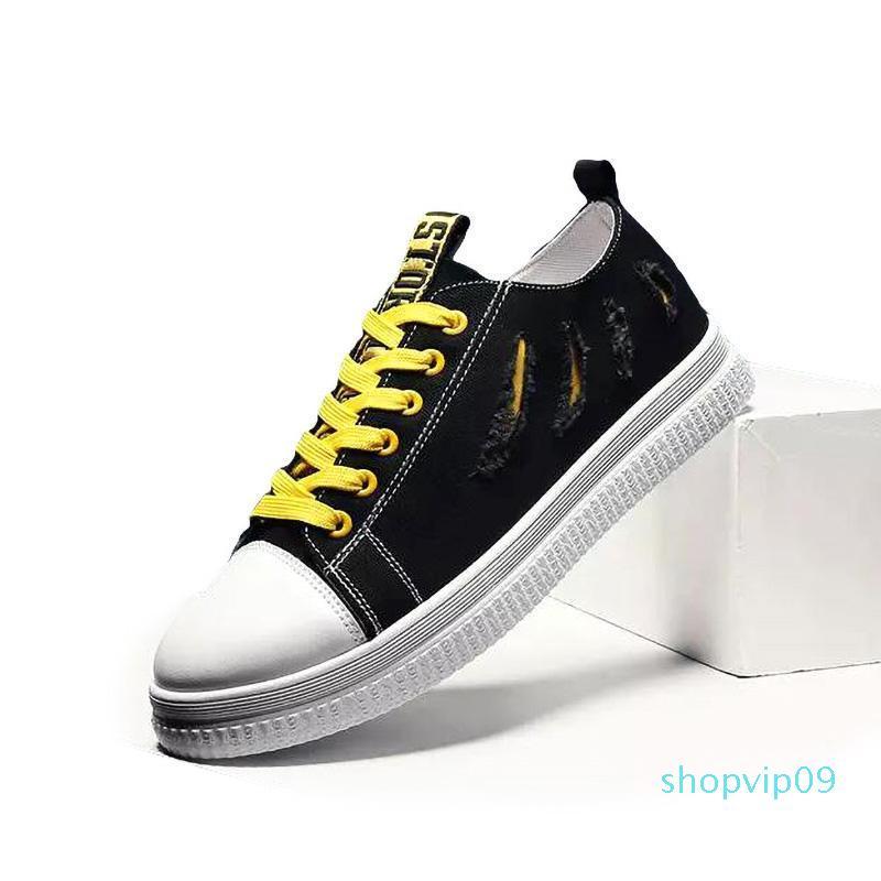 homens baratos mulheres sapatos casuais pretos brancos respirável confortável de qualidade ao ar livre sapatos de pena superior esportes tênis tamanho 40-44L29