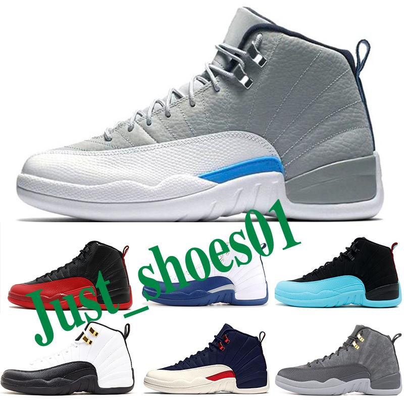 Nike Air Jordan 12 AJ12 Retro  мужская баскетбольная обувь FIBA University Gold REPTILE HOT PUNCH TAXI темно-серые крылья мужской тренер спортивные кроссовки 7-13 p3