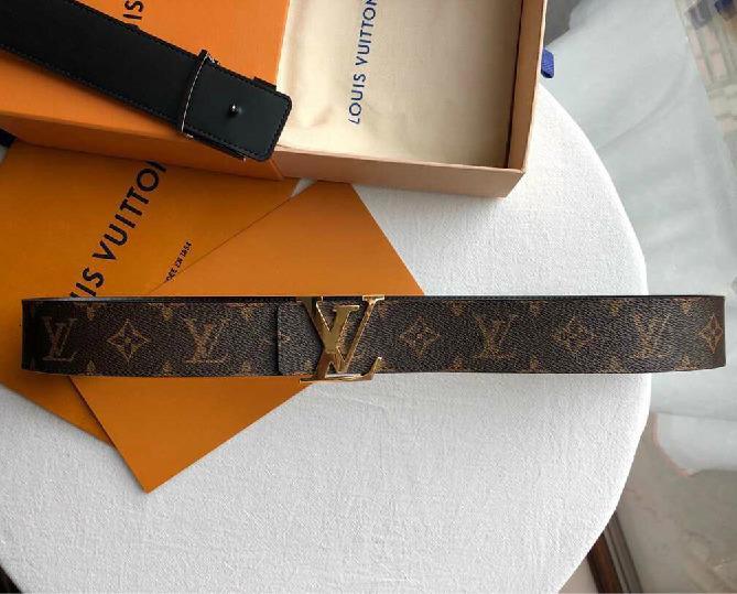 ceinture yangzizhi7 ceinture double face Hommes Ceintures pour homme femme ceinture avec la boîte K89K