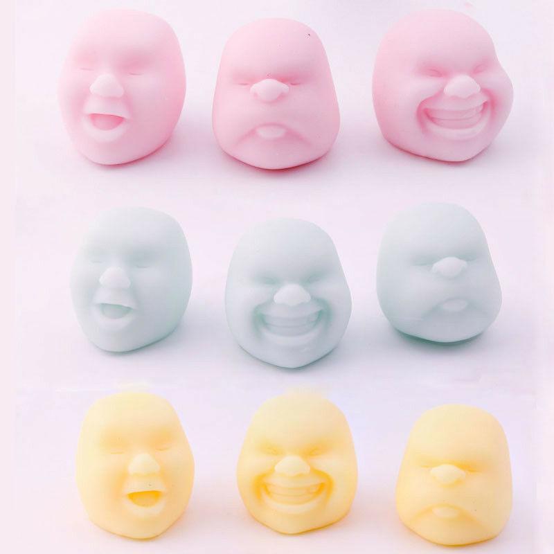 2020 nuovo adulto bambino decompressione giocattoli umano dello sfiato della sfera del viso sfera anti-stress giapponese disegno il cao Maru Caomaru personalità di sfiato