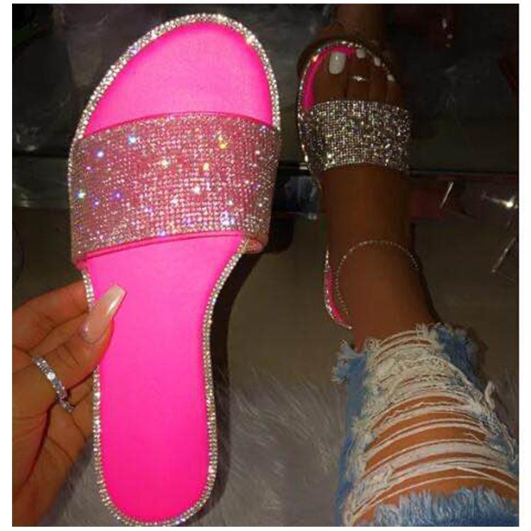 Mulher sandálias Platform Wedges Salto Alto 2.020 novos Creepers Flores Mulheres Slides dos falhanços zapatos de mujer plus size
