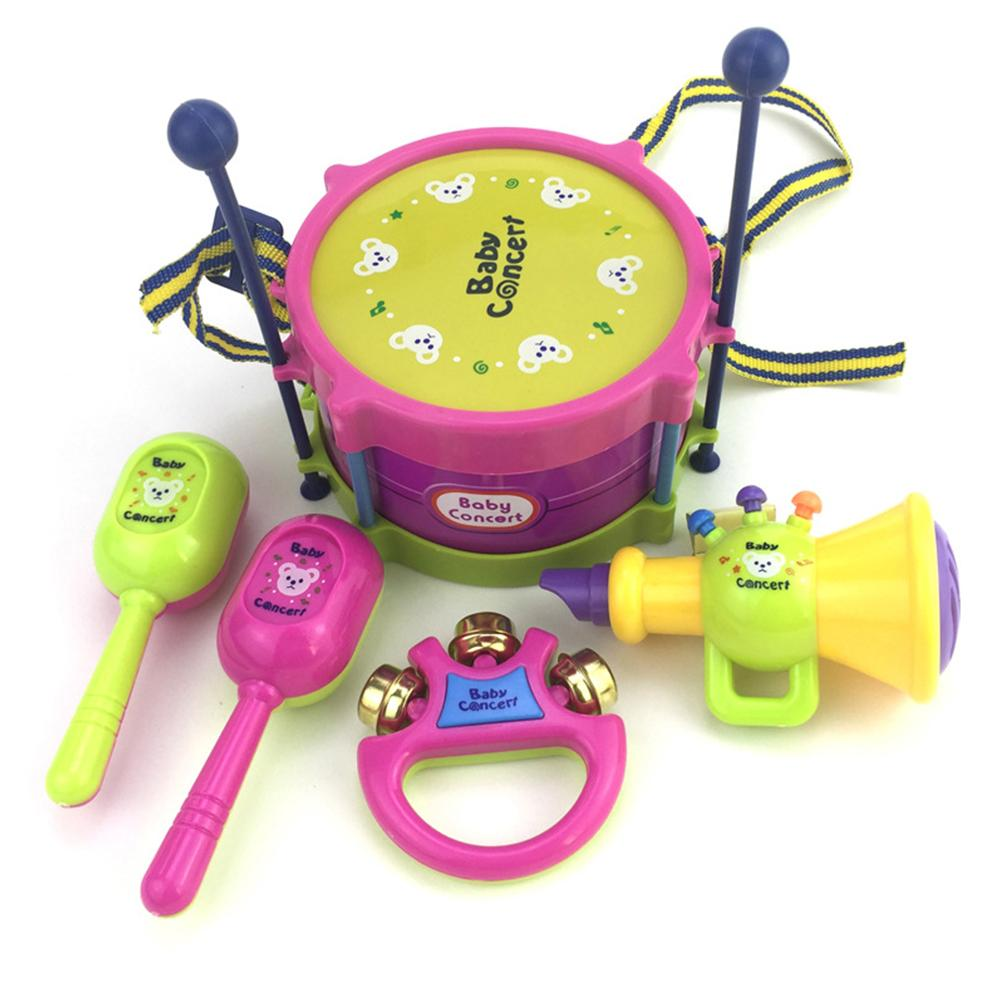 Развивающие Игрушки Детские Музыкальные Инструменты Погремушки Колокольчики Колокольчики Дети Раннего Обучения Погремушка Рождественский Подарок