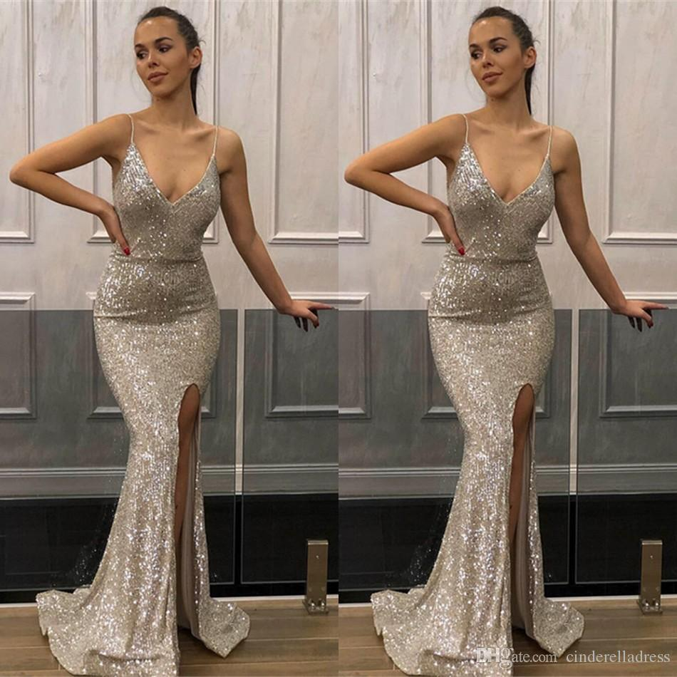 Jovani 03276 | Hot pink Fitted V Neck Embellished Prom Dress