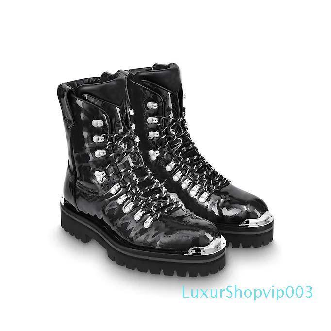 Bottes Vente-femmes des hommes chauds Trainée d'étoile Plate-forme Desert Boot Marques de Luxe Outland Noir Marron Martin Bottes de neige d'hiver Bottes de travail