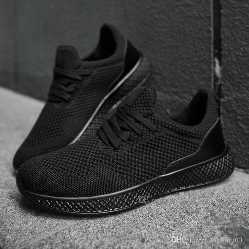New Arrival Fashion Men Shoes Mesh Breathable Sneakers Walking Male Footwear New Comfortable Lightweight Running Shoes B-200302076