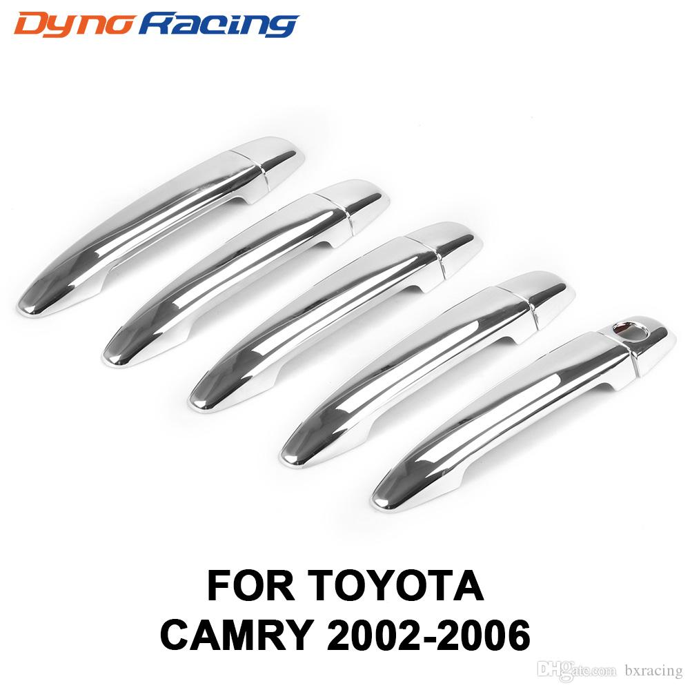 ABS Chrome Door Handle Cover Trim for Toyota Camry 2002-2006 for Matrix 2002-2011 for RAV4 2001-2011 Solara 2005-2008 10PCS/SET