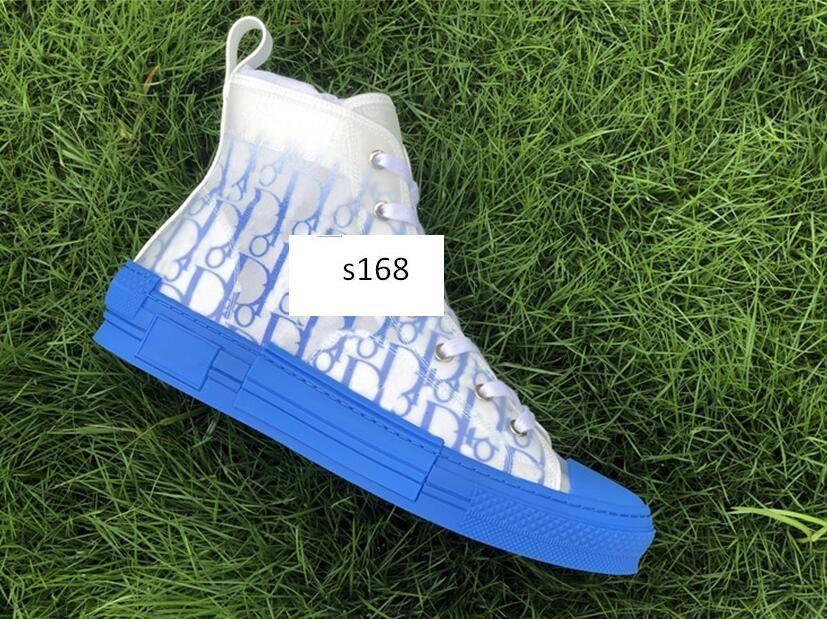 Orijinal kutu kanvas ayakkabılar B23 Sneakers Eğik Teknik Deri Çiçekler Teknik Açık Günlük Ayakkabılar Teknik Düşük yardım kanvas ayakkabılar