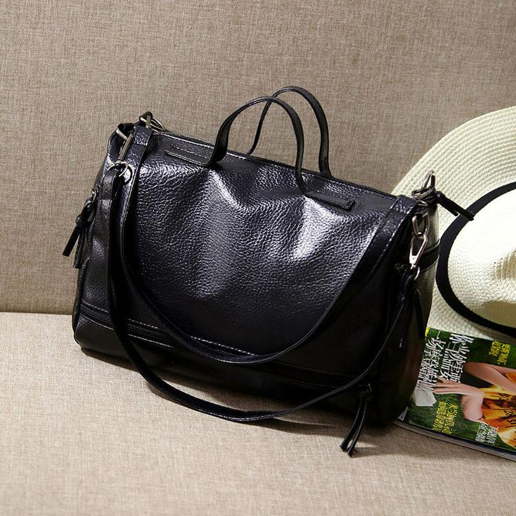 Pretty2019 Woman Bale Boston Wash Skin Mouse Cylinder Package Trend Single Shoulder Portable Bag