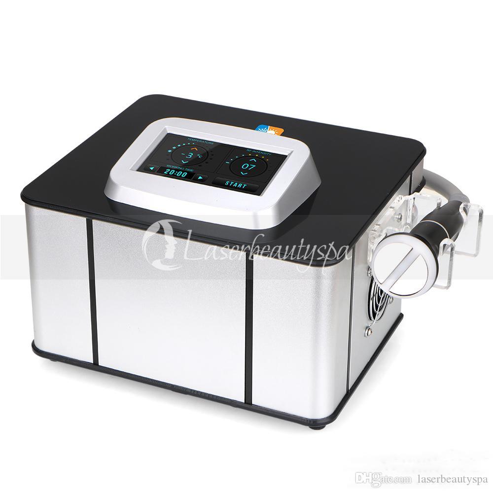 سبا استخدام الباردة والساخنة ترددات الراديو RF العارض الجلد الثلج الجليد العناية بالبشرة جهاز إزالة التجاعيد RF