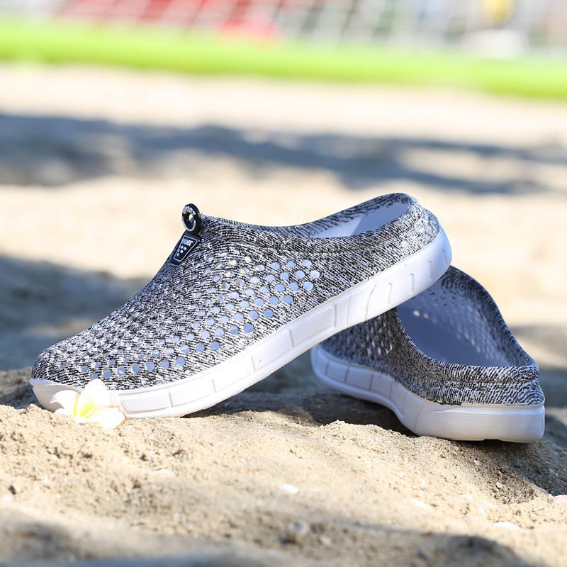 Original New Garden Flip Flops Chaussures Femmes Sport Eau Marche Summer Beach Aqua Slipper Outdoor Eva Lycra Sandales Chaussures jardinage