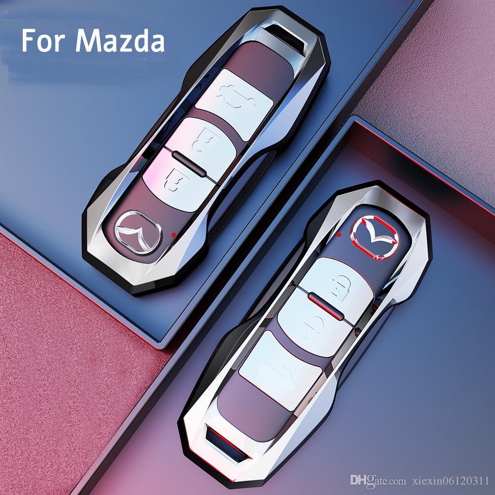 Car Key Case Protective Case For Mazda 3 6 CX-3 CX-5 Popular Accessories Fashion