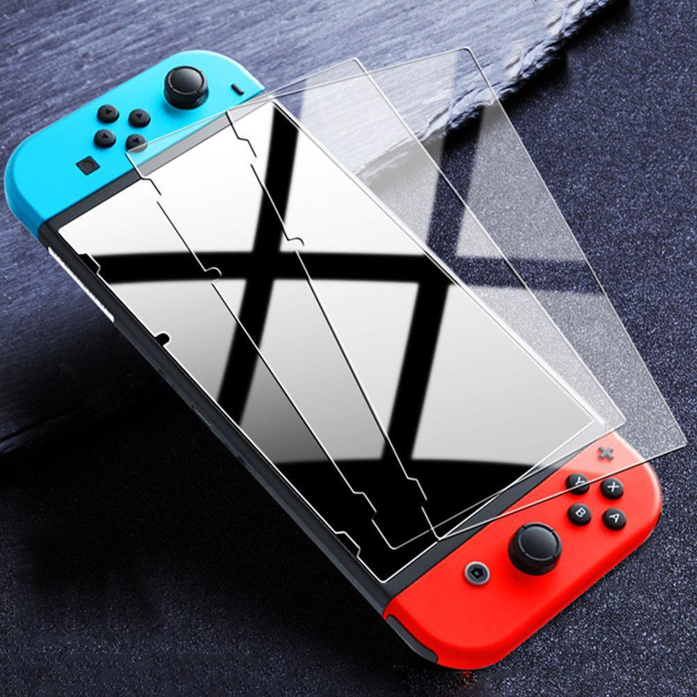 9H Ultra Thin Premium Tempered Glass Screen Protector Film HD Clear Anti-Scratch For Nintendo Switch With Retail Package