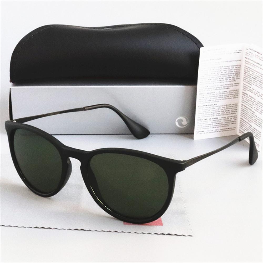 2020 كلاسيك جديد اريكا النظارات الشمسية المرأة العلامة التجارية مصمم مرآة مكبرة عين القط ستار حماية نمط نظارات شمسية UV400