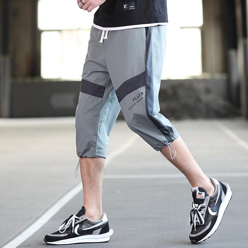 MOXITU Yeni Şort Erkekler Sıcak Satış 2020 Yaz Eğlence Diz Boyu Şort Koşucular Kısa Sweatpants Pantolon Erkekler