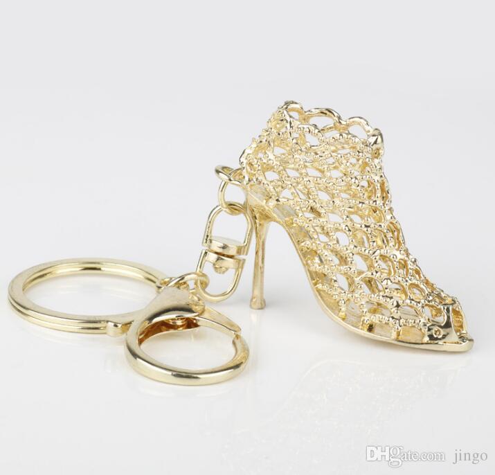 shoe DHL portachiavi catene Donne High key con tacco suonare borsa Ciondolo Borse Auto Anello scarpe catene portacavi anelli chiave per le donne Regali NY