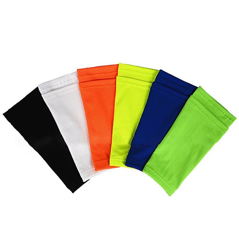Futebol Socks protecção com bolso para o futebol Shin caneleiras mangas Apoio Caneleira adulto / criança Apoio Sock