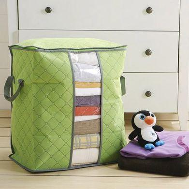 Quilt immagazzinaggio dei vestiti Borse Di spessore non tessuto portatile armadio organizzatore Salvare spazio pieghevole antipolvere scatola del sacchetto per il cuscino Coperta B EEA1410