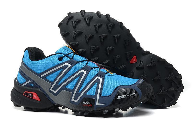Marca Outlet Reino Unido Solomons Speedcross 3 CS Trail zapatos casuales las mujeres de peso ligero de la Armada zapatillas Salomón III Zapatos impermeable L05 calzado deportivo